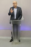 Campinas (SP), 19/11/2020 - Eleições/Debate - Dario Saadi. Os candidatos a prefeito da cidade de Campinas (SP), Dário Saadi (Republicanos) e Rafa Zimbaldi (PL) participam na noite desta quinta-feira (19) de um debate na sede da Band Campinas.