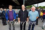 Attending Ryan's Motor Memorial Tractor and Car run in Miltown on Sunday in Miltown, l to r: Batty Cahillane (Killorglin), John Galvin (Killorglin) and Peter Jackson (Ballyhar)