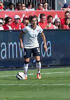 02 June 2013: U.S Women's National Soccer Team defender Ali Krieger #11in action during an International Friendly soccer match between the U.S. Women's National Soccer Team and the Canadian Women's National Soccer Team at BMO Field in Toronto, Ontario.<br /> The U.S. Women's National Team Won 3-0.