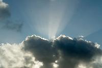 Clouds,god rays