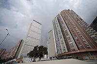 BOGOTÁ-COLOMBIA- Centro Internacional de Bogotá./ International Center of Bogotá.  Photo: VizzorImage/STR