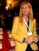 Il sottosegretario alla Pubblica Amministrazione Michaela Biancofiore all'assembea annuale della Confcommercio a Roma, 12 giugno 2013.<br /> Italian Public Function undersecretary Michaela Biancofiore at the Italian Confcommercio traders association's annual assembly in Rome, 12 June 2013.<br /> UPDATE IMAGES PRESS/Riccardo De Luca