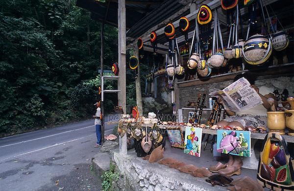 Street Market, Fern Gully, Ocho Rios, Jamaica, January 2005