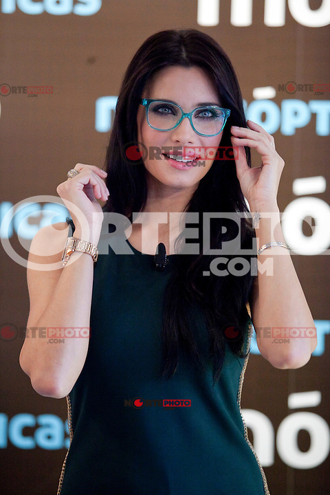 Pilar Rubio presents new Multiopticas glasses collection on October 17, 2013 in Madrid, Spain. (ALTERPHOTOS/Victor Blanco)