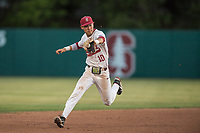 STANFORD, CA - MAY 27: Adam Crampton during a game between Oregon State University and Stanford Baseball at Sunken Diamond on May 27, 2021 in Stanford, California.