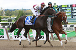 Royal Delta, ridden by Mike Smith, wins the Beldame Invitational Stakes (GI) at Belmont Park, in Elmont, New York on September 29, 2012.