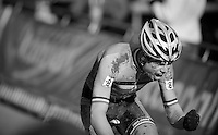 Wout Van Aert (BEL) screams it out once passed the finish line and thus liberating himself from the frustration of being excluded/disqualified from the Belgian Nationals only weeks before<br />