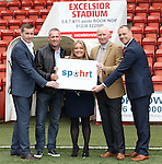 Re-launch Spohrt to assist sports professionals in career development at Excelsior Stadium, Airdrie