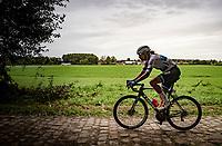 European champion Ellen van Dijk (NED/Trek-Segafredo)<br /> <br /> Inaugural Paris-Roubaix Femmes 2021 (1.WWT)<br /> One day race from Denain to Roubaix (FRA)(116.4km)<br /> <br /> ©kramon