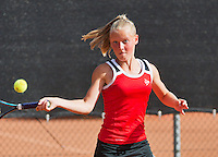08-08-13, Netherlands, Rotterdam,  TV Victoria, Tennis, NJK 2013, National Junior Tennis Championships 2013, Suzan Lamens   <br /> <br /> <br /> Photo: Henk Koster