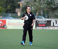 AA GENT LADIES :<br /> Trainer Jimmy Segers<br /> foto Dirk Vuylsteke / Nikonpro.be