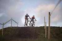 winning move by Sven Nys (BEL) overtaking Lars van der Haar (NLD) in the very last lap and such securing his 13th (!!!) Superprestige overall win (scoring exact same point total as Niels Albert, but winning more races)<br /> <br /> 2014 Noordzeecross<br /> Elite Men