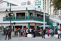 FORT LAUDERDALE, FL - JANUARY 03: People are seen partying at the Elbow Room as The state of Florida's COVID-19 dashboard reported another 10,603 cases Sunday, the fifth consecutive day of reporting over 10,000 cases as hospitalizations, positive test rate rise new high on January 3, 2021 in Fort Lauderdale, Florida. <br /> CAP/MPI04<br /> ©MPI04/Capital Pictures
