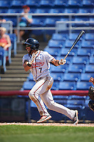 Richmond Flying Squirrels shortstop Ali Castillo (7) at bat during a game against the Binghamton Mets on June 26, 2016 at NYSEG Stadium in Binghamton, New York.  Binghamton defeated Richmond 7-2.  (Mike Janes/Four Seam Images)