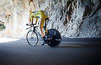 Chris Froome (GBR/SKY) during his TT<br /> <br /> stage 13 (ITT): Bourg-Saint-Andeol - Le Caverne de Pont (37.5km)<br /> 103rd Tour de France 2016