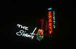Neon <br /> Sign for bar called The Shanty in Los Angeles, CA