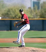 Corbin Martin - Arizona Diamondbacks 2021 spring training (Bill Mitchell)