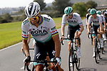 Peter Sagan (SVK) Bora-Hansgrohe in the peloton during Stage 6 of the 100th edition of the Volta Ciclista a Catalunya 2021, running 193.8km from Tarragona to Mataro', Spain. 27th March 2021.   <br /> Picture: Bora-Hansgrohe/Luis Angel Gomez/BettiniPhoto | Cyclefile<br /> <br /> All photos usage must carry mandatory copyright credit (© Cyclefile | Bora-Hansgrohe/Luis Angel Gomez/BettiniPhoto)