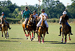 Polo Camp summer pony club week long polo camp. Lingfield Surrey England. 1990s.