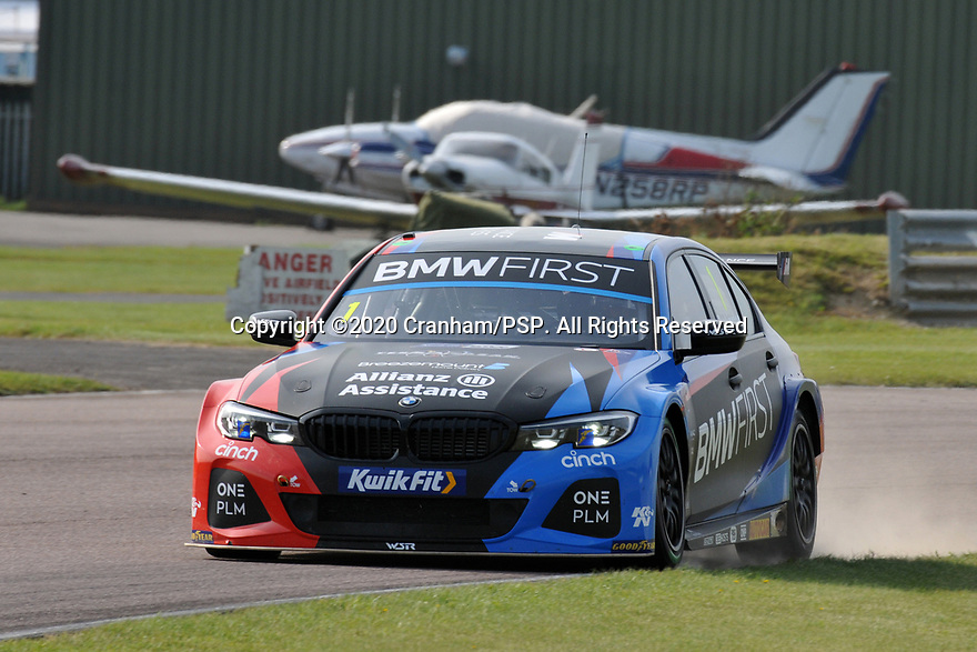 Round 5 of the 2020 British Touring Car Championship. #1 Colin Turkington. Team BMW. BMW 330i M Sport.