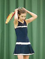 15-3-09, Rotterdam, Nationale Overdekte Jeugdkampioenschappen 12 en 18 jaar,  Claire Verwerda