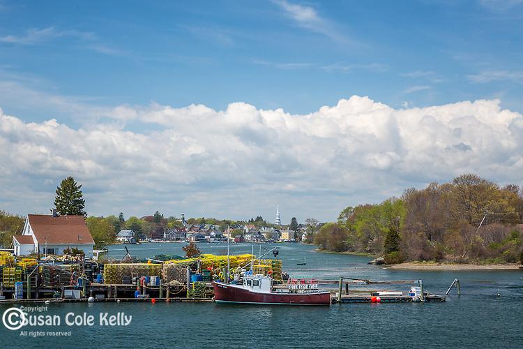 Piscataqua River view in Portsmouth, New Hampshire, USA