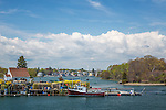 Piscataqua River view in Portsmouth, New Hampshire, USA