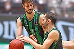 TDAYS EuroCup 2020-2021.Round 1.<br /> Joventut Badalona vs Partizan NIS Belgrado: 85-82.<br /> Ante Tomic & Pau Ribas.