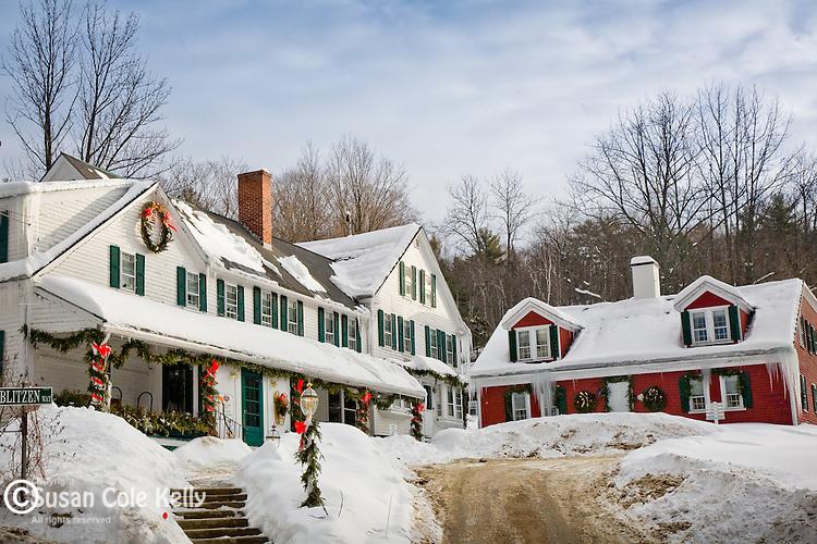 Christmas Farm Inn in Jackson, White Mountains region, NH, USA