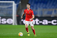 18th February 2021, Rome, Italy;   Julian Weigl of SL Benfica during the UEFA Europa League round of 32 Leg 1 match between SL Benfica and Arsenal at Stadio Olimpico, Rome, Italy on 18 February 2021.