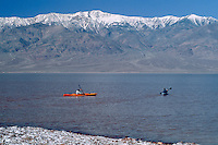 Kayaking after a wet winter at Badwater<br />