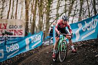 KAPTHEIJNS Maud (NED/Roompot-Charles)<br /> <br /> Brussels Universities Cyclocross (BEL) 2019<br /> Women's Race<br /> DVV Trofee<br /> ©kramon