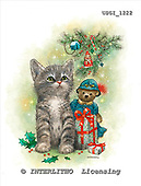 GIORDANO, CHRISTMAS ANIMALS, WEIHNACHTEN TIERE, NAVIDAD ANIMALES, paintings+++++,USGI1222,#XA#