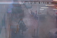 2018 01 17 Shop thief, Port Talbot, Wales, UK