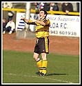 06/04/2002                 Copyright Pic : James Stewart .Ref :     .File Name : stewart-alloa v qos   23.ANDY SEATON CELEBRATES AFTER SCORING ALLOA'S FOURTH GOAL.....James Stewart Photo Agency, 19 Carronlea Drive, Falkirk. FK2 8DN      Vat Reg No. 607 6932 25.Office     : +44 (0)1324 570906     .Mobile  : + 44 (0)7721 416997.Fax         :  +44 (0)1324 630007.E-mail  :  jim@jspa.co.uk.If you require further information then contact Jim Stewart on any of the numbers above.........