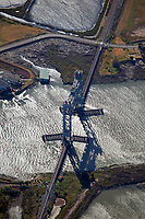 aerial photograph of the Brazos Drawbridge, Napa, California