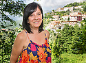 Rosalia Capaldi, who believes she is related to new Doctor Who star Peter Capaldi, at her home in Picinisco, Italy.