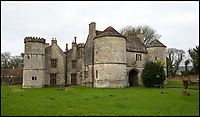BNPS.co.uk (01202 558833)<br /> Pic: BNPS<br /> <br /> Elizabethan Wolfeton House.<br /> <br /> Countryside campaigners are today celebrating after defeating controversial plans to build a housing estate next to a historic manor that inspired Thomas Hardy.<br /> <br /> Developers had hoped to build 89 new homes in the vicinity of Wolfeton House, which is indelibly linked to Hardy's 1886 novel The Mayor of Casterbridge.<br /> <br /> But officials at Dorset Council have rejected their planning application, to the relief of objectors including Historic England and the Thomas Hardy Society, who argued Hardy's idyllic setting would be 'ruined' by the development.