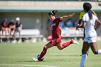 STANFORD, CA - SEPTEMBER 12: Amy Sayer during a game between Loyola Marymount University and Stanford University at Cagan Stadium on September 12, 2021 in Stanford, California.