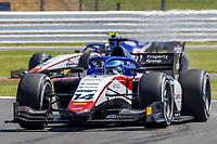 16th July 2021; Silverstone Circuit, Silverstone, Northamptonshire, England; F2 British Grand Prix, Free Practice; David Beckmann in his Charouz Racing System Dallara F2 2018