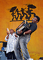 Anthony Dopsie performs at the New Orleans Jazz Festival, New Orleans, Saturday, April 28, 2007..(AP Photo/Cheryl Gerber)Zydeco