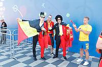Nice le 22 Jiun 2016 Ambince Fan Zone Place Massena Supporter Belge