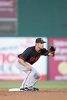 May 26, 2010: Erik Morrison of the Bakersfield Blaze during game against the Inland Empire 66'ers at Arrowhead Credit Union Park in San Bernardino,CA.  Photo by Larry Goren/Four Seam Images