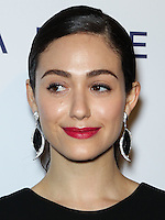 WEST HOLLYWOOD, CA, USA - OCTOBER 23: Emmy Rossum arrives at Brian Bowen Smith's First Solo Show 'Wildlife' held at the De Re Gallery on October 23, 2014 in West Hollywood, California, United States. (Photo by Celebrity Monitor)