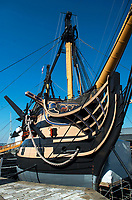 BNPS.co.uk (01202 558833)<br /> Pic: PhilYeomans/BNPS<br /> <br /> HMS Victory.<br /> <br /> Auctioneers expect a high price for this poignant item of Nelsonian history...<br /> <br /> The service medal awarded to one of the men who carried a mortally wound Lord Nelson down from the deck where he was shot to his deathbed has emerged for sale for £30,000.<br /> <br /> Able Seaman James Sharman was 20 years old when he served on the HMS Victory during the Battle of Trafalgar on October 21, 1805.<br /> <br /> After Nelson was shot by an eagle-eyed French sniper in the rigging, he helped carry him down to the Orlop deck.<br /> <br /> Sharman was also the inspiration for the Charles Dickens' character Ham Peggotty in his 1850 novel David Copperfield, after the famous author read about his heroic rescue of a crew member from a sea disaster.<br /> <br /> Sharman's Naval Service Medal, with a Trafalgar clasp, is being sold with auction house Peter Wilson, of Nantwich, Cheshire.