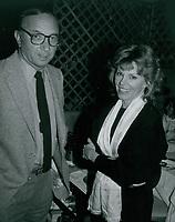 Neil Simon & Marsh Mason 1978<br /> Photo By John Barrett-PHOTOlink.net / MediaPunch