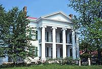 St. Louis: Chatillon-De Menil House facade, 1861. (Replica of earlier Greek Revival house.) Photo '78.