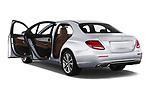 Car images close up view of a 2018 Mercedes Benz E Class Business Solution 4 Door Sedan doors
