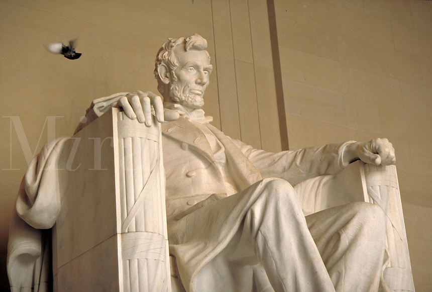 Lincoln Memorial. Washington, DC, USA.