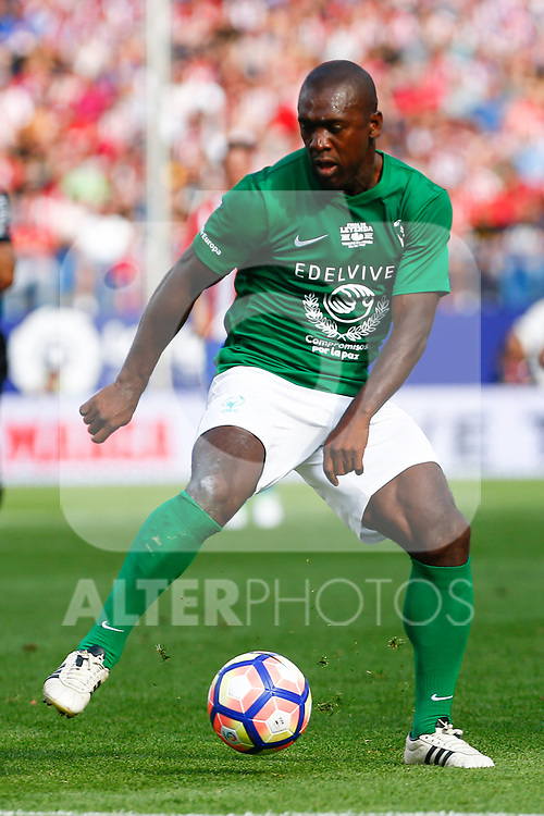 Clarence Seedorf  during the last match to be played by Atletico de Madrid at Vicente Calderon Stadium in Madrid, May 28, 2017. Spain.. (ALTERPHOTOS/Rodrigo Jimenez)